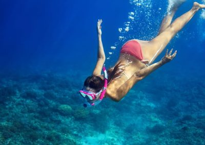 Free dive into  of our spectacular turquoise waters