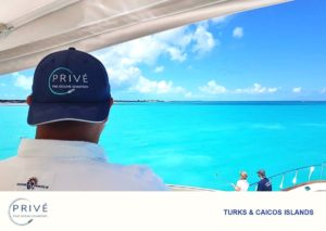 view from the bridge of luxury motor yacht