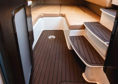 Below Deck Cabin of Hydrasports 53 motor yacht