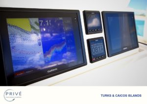 State of the art Twin Garmin Navigation Touch Screen