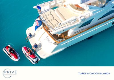 Jet Skis - Azimut Charter - Boarding - Prive' Team Assistance