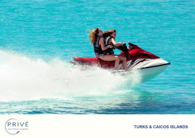 Azimut Charter - Jet Skis - Riding these machines sensibly can be some of the best fun a person can have especially here in TCI