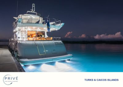 Prive' Azimut 80 - Luxury Motor Yacht - Blue Haven – Night