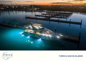 Azimut 80 luxury yacht docked with all of her lights on nearing dusk