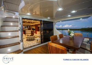 Azimut Yacht Covered Deck