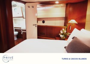 Spacious stateroom with queen bed