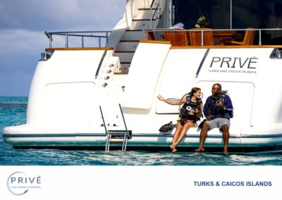 Scuba Diving  - Private Diving - M/Y Prive'- Diving as it should be