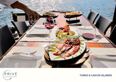 Gourmet Dishes - Deck Dining - Alfresco