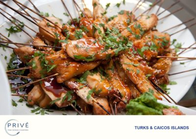 Gourmet Dishes - Chicken Satay Skewers