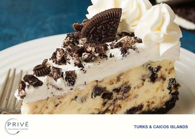 Gourmet Dishes - Cookies-n-Cream Cheesecake - Dessert
