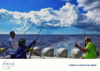 Deep Sea Fishing - The Beautiful Waters of TCI