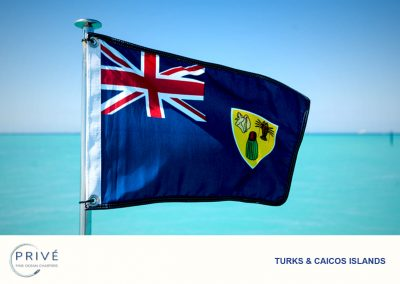 Azimut - The national flag of Turks and Caicos Islands
