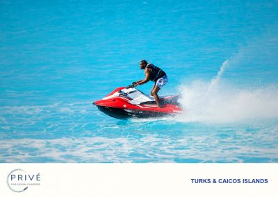 Jet Ski - Enjoy the freedom and amenities that come as standard with Prive'